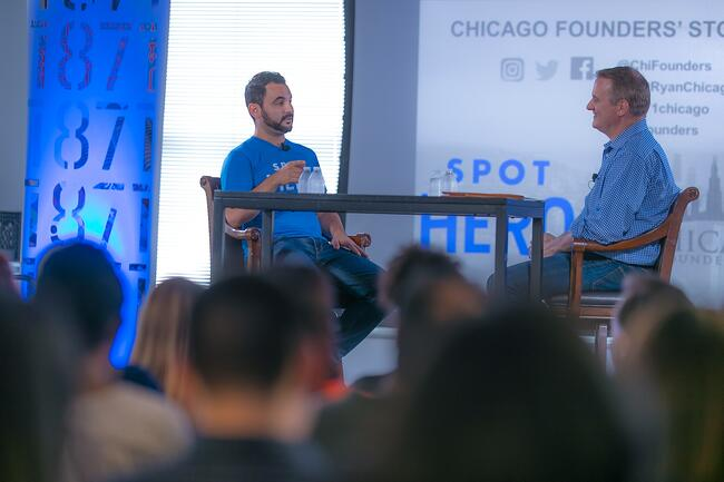 Chicago Founders' Stories ft. Mark Lawrence, Founder of SpotHero