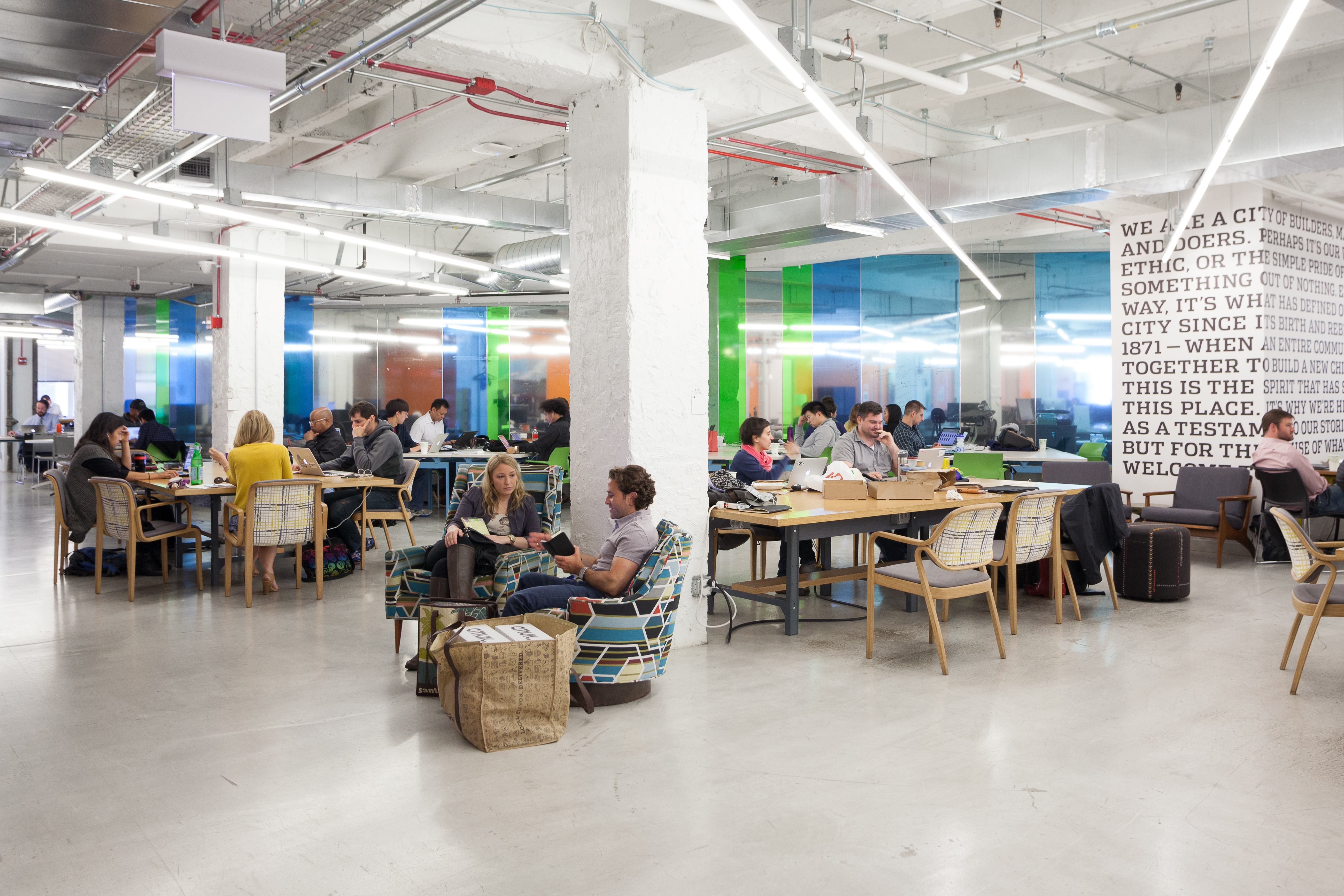 1871 co-working space