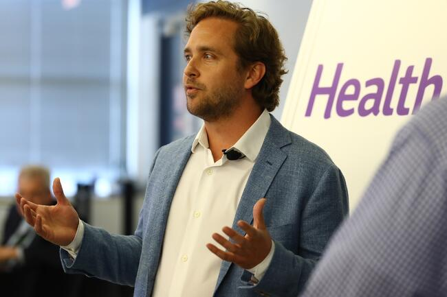 Justin Holland, Founder and CEO of HealthJoy