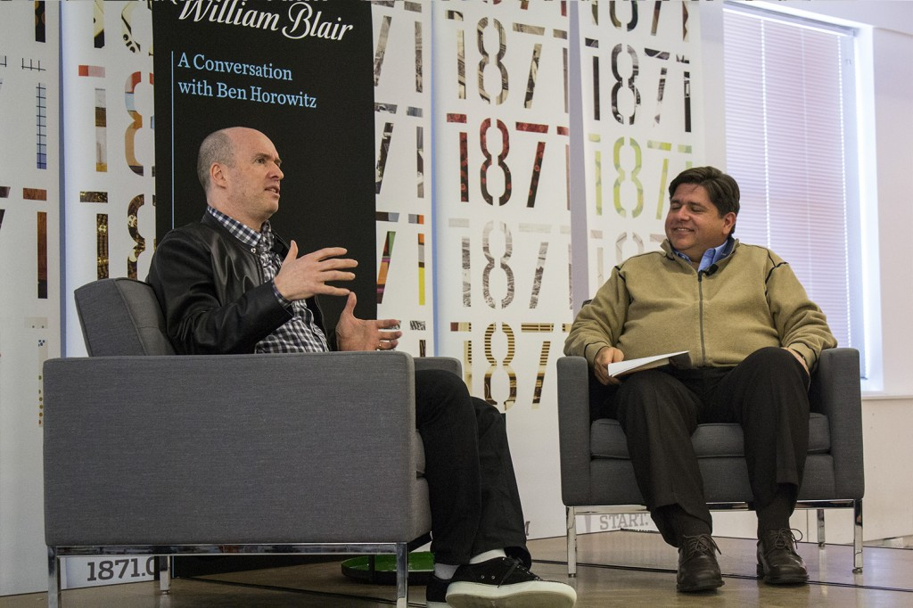 Ben Horowitz and JB Pritzker