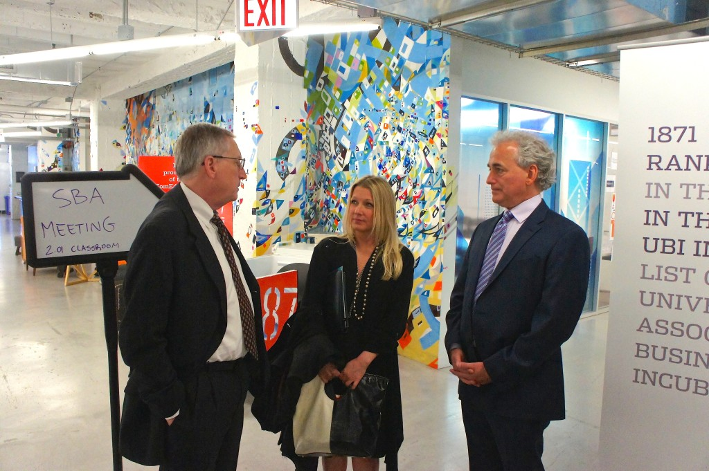 SBA visit to Good Food Business Accelerator